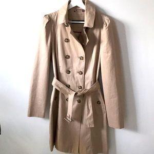 Zara Tan trench coat